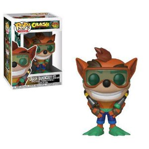 POP! Funko Crash Bandicoot 2: Crash with Scuba Gear # 421