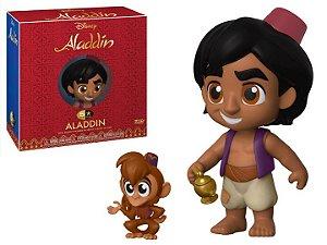 Funko 5 STAR Disney: Aladdin, Abu e Lâmpada
