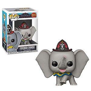 Boneco POP! Funko Dumbo 2: Dumbo Bombeiro # 511