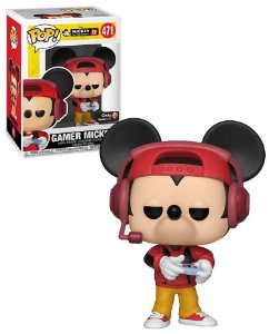 POP! Funko Disney: Mickey Gamer Exclusive 90th # 471