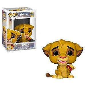 POP! Funko Disney O Rei Leão - Simba # 496