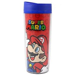 Copo Térmico de Viagem 500ml Super Mario