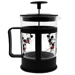 Cafeteira Francesa em Vidro 600ml Mickey - Disney
