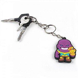 Chaveiro Emborrachado Cute Thanos