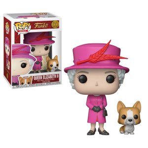 POP! Funko Royals - Rainha Elizabeth II # 01