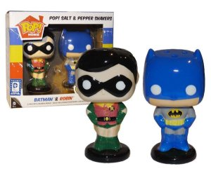 POP! Home  Saleiro e Pimenteiro Batman e Robin Funko