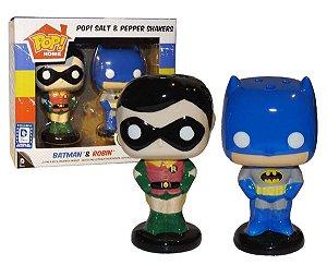 POP! Home  Saleiro e Pimenteiro Batman e Robin Funko