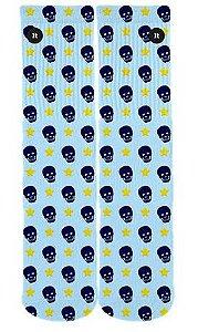 Meia Caveira Azul - ItSox