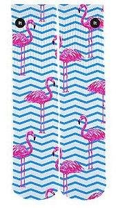 Meia Flamingo Listrada - ItSox
