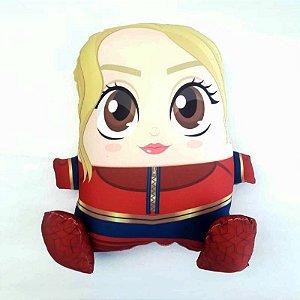 Almofada CuboArk 3D Formato Capitã Marvel