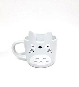 Caneca 3d Totoro cinza