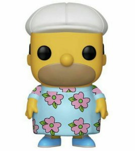 Boneco POP! Funko Special Edition Homer Muumuu Simpson # 502