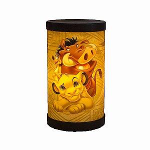 Luminária Rei Leão Hakuna Matata Licenciado Disney