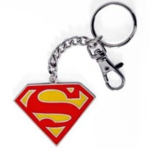 Chaveiro de Metal Logo Superman