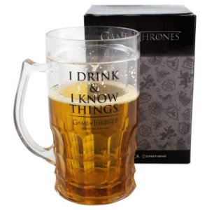 Caneca de Chopp 500ml I Drink & I Know - GOT
