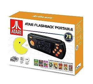 Videogame Portátil Atari Flashback c/ 70 Jogos na Memória