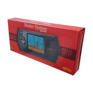 Video Game Master System Portatil 40 Jogos Tela e Plug & Play