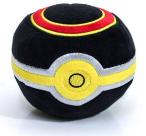 Pokebola de Pelúcia - Lujo Ball