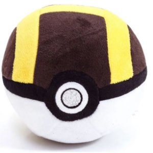 Pokebola de Pelúcia - Ultra Ball