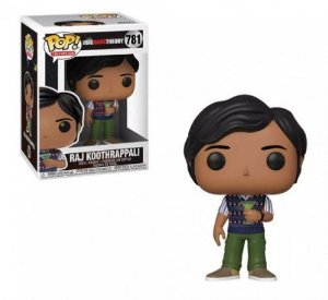 POP! Funko Big Bang Theory Raj Koothrappali # 781