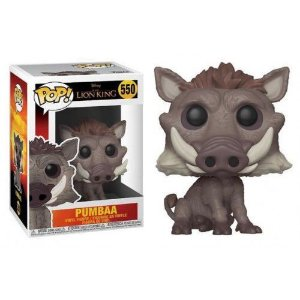 "POP! Funko Disney "" O Rei Leão"" Live Action - Pumba #550"