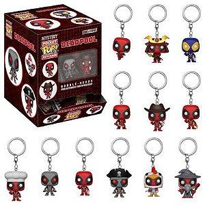 Funko Mystery Keychains: Deadpool Embalagem Surpresa