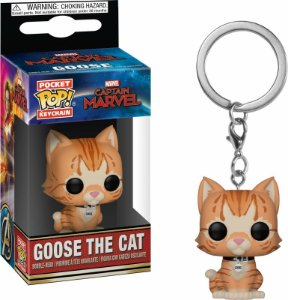 Chaveiro Funko POP Keychain Marvel - Goose the Cat