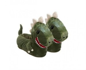 Pantufa 3D Dinossauro Licenciada - 37/39