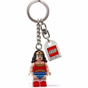 Chaveiro Lego Mulher Maravilha