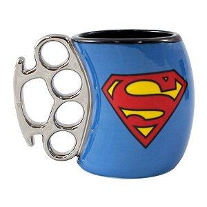 Caneca Soco Inglês 350ml Super Homem