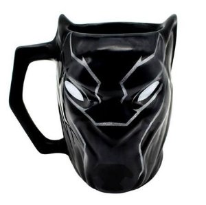 Caneca 3D 450ml Pantera Negra