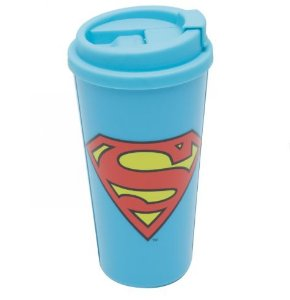Copo Plástico 500ml Grab and Go - DC Comics Superman