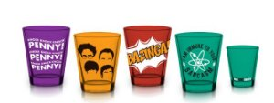 Conjunto c/ 4 Copos Shot 50ml The Big Bang Theory