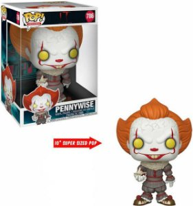 POP! Funko Movies: Super Sized Pennywise w/ Boat # 786