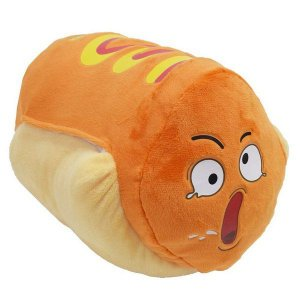 Boneco de Pelúcia Wha Wha Whacky - Hot Dog