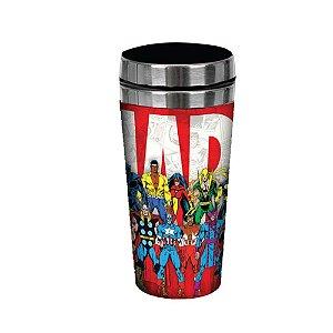 Copo Térmico 450ml Turma de Heróis Marvel