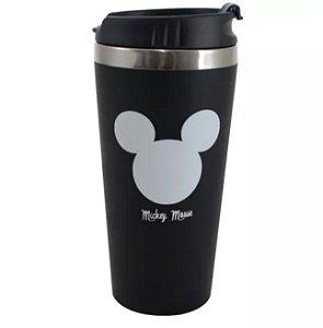 Copo p/ Viagem Emborrachado 450ml Mickey Mouse