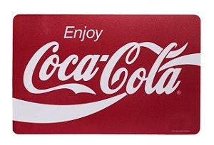 Lugar Americano de Plástico Coca-Cola Unidade
