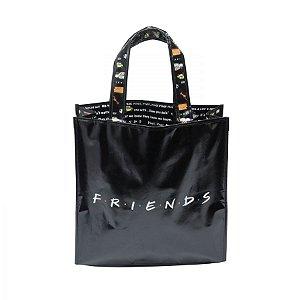 Sacola Plástica Ecobag Friends Logo e Ilustrações