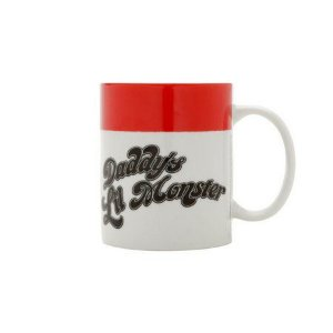 Caneca Porcelana 300ml Daddy's Little Monster