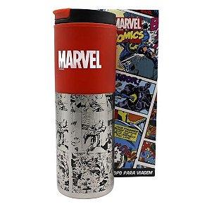Copo p/ Viagem 500ml Marvel Classic