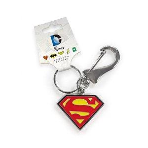 Chaveiro de Metal Logo Superman - DC Comics