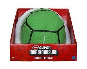 Pelúcia Koopa Troopa com Som - Super Mario