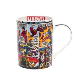 Caneca Porcelana Marvel HQ Colors