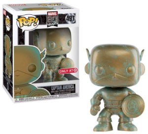 POP! Funko Marvel 80 Anos: Capitão América # 497