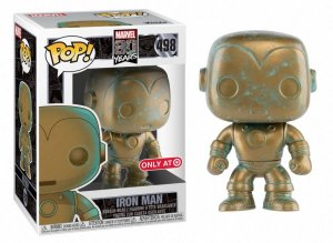 POP! Funko Marvel 80 Anos: Iron Man # 498