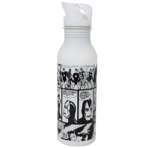 Squeeze Alumínio 600ml HQ´s Marvel P&B