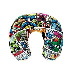 Encosto / Almofada de Pescoço Micropérolas - HQ´s Marvel