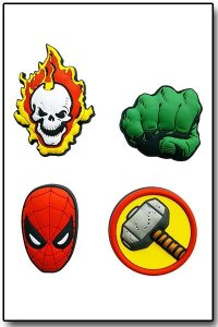 Imãs PVC Marvel - Homem Aranha, Hulk, Thor