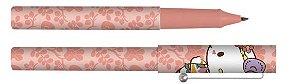 Caneta Esferográfica Hello Kitty Rosa Floral